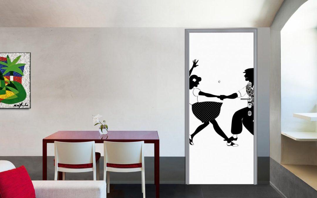 Porte personalizzate in provincia di Milano: scegli Printwood di Dierre