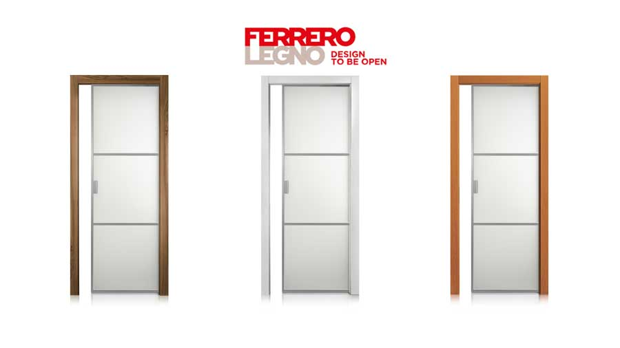 Cristal frame Ferrero Legno