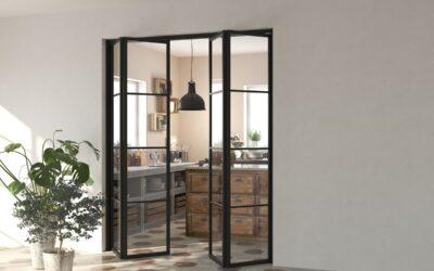 Porte a libro, ecco i modelli di porte per interni più funzionali ed innovativi del momento